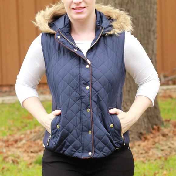 2de7dfdfc9 Active USA Jackets & Coats | 30 Off 2more Quilted Vest Faux Fur Trim ...